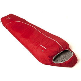 Grüezi-Bag Biopod Wool Zero Sleeping Bag Tango Red